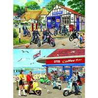 Mods and Rockers - 2 x 500pc