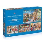 Magic of Christmas - 4 x 500pc
