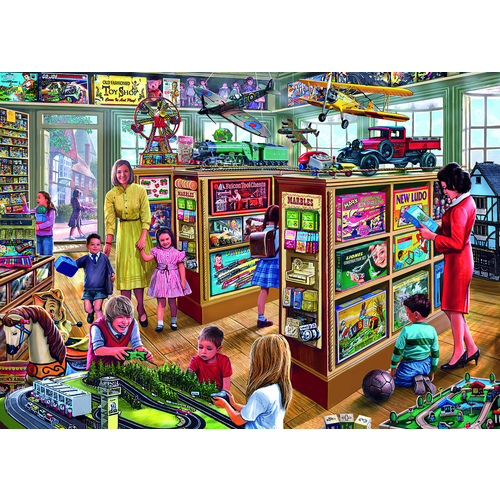 The Toy Shop - 1000pc