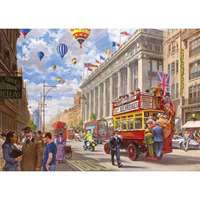 Oxford Street - Then and Now - 1000pc