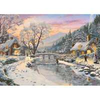 Winter Evening Dusk - 1000pc