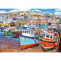 Mevagissy Harbour - 1000pc