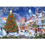The Village Christmas Tree - 1000pc