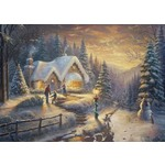 Country Christmas Homecoming - 1000pc