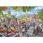 Market Day, Norwich - 1000pc