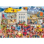 Lifting the Lid - Buckingham Palace - 1000pc