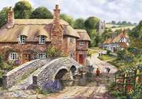 packhorse bridge - 2000 piece