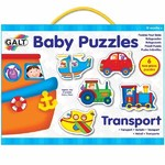 Baby Puzzles - Transport - 6 x 2pc