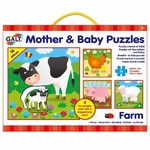 Puzzle Farm - Mother and Baby - 4 x 16pc