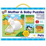 Puzzle Pets - Mother and Baby - 4 x 16pc