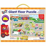 Town - Giant Floor Puzzle - 30pc