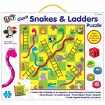 Giant Floor Puzzle - Snakes and Ladders - 36 pieces