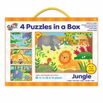 GALT Jungle Puzzles - 4 in 1