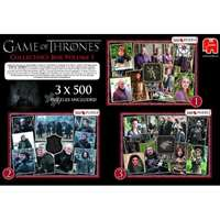 Game of Thrones 3x500pc Collectors Pack