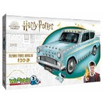 Harry Potter - Flying Ford Anglia - 130pc 3D