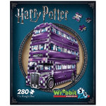 WREBBIT Harry Potter - 3D Knight Bus Puzzle - 280pc