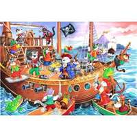 Pirates Ahoy - Kidz Jigz 80 Piece