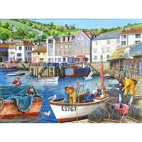 Busy Harbour - Find the Difference 12 - 1000pc