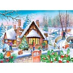 Snowy Cottage - 250XL pieces