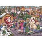 Deck the Halls - Find the Difference 17 - 1000pc