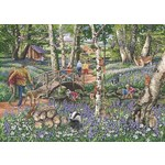 Find the Difference 18 - Walk in the Woods - 1000pc