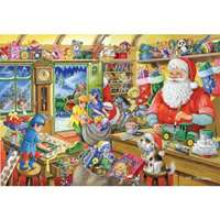 santas workshop - 1000 piece