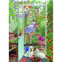 Through the Greenhouse Door - 500pc