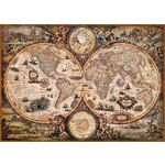 Vintage World Map - 2000pc