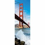 Golden Gate Bridge - Vertical Panoramic - 1000pc