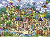 Happytown - Berman - Triangular - 1500pc