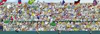 Sports Fans - 1000pc Panoramic