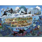 Submarine Fun - Triangular Box - 1500pc
