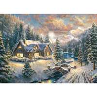 High Country Christmas - 1000pc