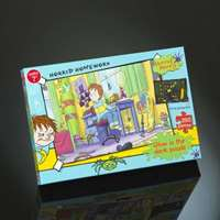 Horrid Henry - Horrid Homework - Glow in the Dark - 250pc