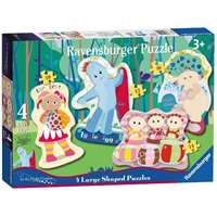 In The Night Garden - Four Shaped Puzzles