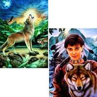 howling wolf & spirit of wolf