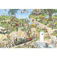 the golf course 1500 piece- jvh