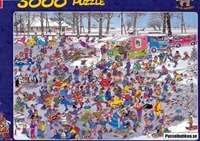 On Thin Ice - 3000 Piece - JVH
