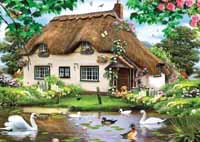 Swan Cottage (500 Piece )