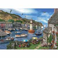 Summertime Harbour - 1000pc