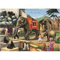 A Day at the Zoo - 1000pc