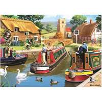 Busy Time on the Canal - 1000pc