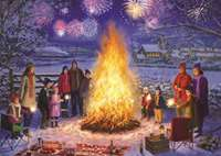 Bonfire Night - 500pc