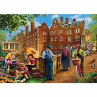 Afternoon In Cambridge - 1000pc