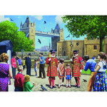 Beefeaters at the Tower - 1000pc