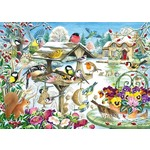 Winter Garden Birds - 500pc