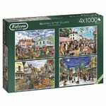Seasons in the Village - 4 x 1000pc