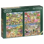 Gardens of all Seasons - 4 x 1000pc