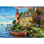 The Lighthouse Keepers Cottage - 1000pc