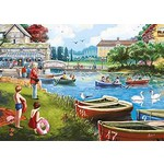 The Boating Lake - 1000pc